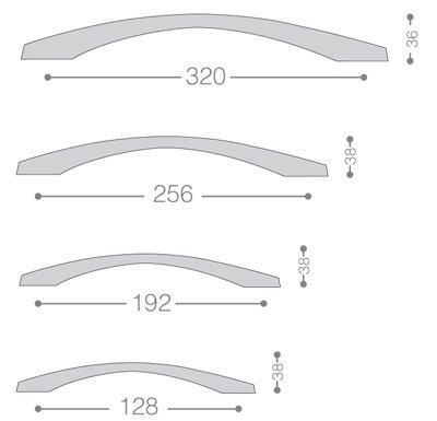 دستگیره کابینتی مدل 321