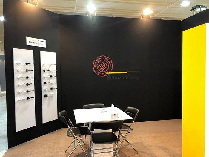 غرفه بهریزان در نمایشگاه تبریز